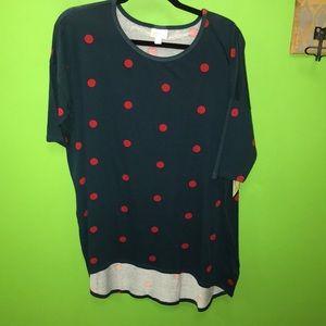 LulaRoe Medium Irma shirt NWT
